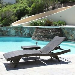 Best Selling Home Decor Multi-brown Stackable Folding Patio Chaise Lounge Chair