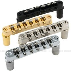 Roller Saddle Tune-O-Matic Bridge for Import Epiphone® Les Paul SG ES Dot $24.99