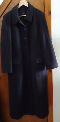 WINDSMOOR Wool Bend with Cashmere Coat Brown 14