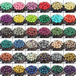 Bulk Gemstones II natural spacer stone beads 4mm 6mm 8mm 10mm 12mm jewelry DIY $2.09