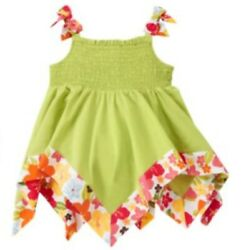 ❤GYMBOREE girl dress Tropical Floral Tops Hat 8 10 12 Hawaiian Twin NEW FREESHIP