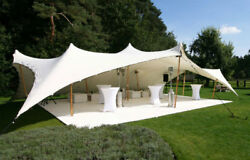 Waterproof Commercial Wedding Event Patio Party Coated Bedouin Stretch Tent NEW