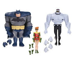 The New Batman Robin & Mutant Leader Action Figure 3 Pack Animated Adventures