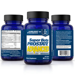 Super Beta Prostate P3 Advanced Supplement - 60 Caplets - New & FREE Shipping!