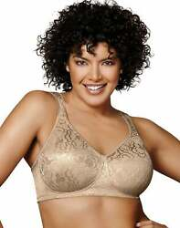 Playtex 18 Hour Bra Wirefree Ultimate Lift True Support Womens 4745 Natural Soft $15.97