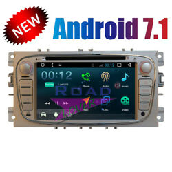 Android 7.1 Car DVD Player For Ford Focus 2009-2012 Stereo GPS Navigation Audio
