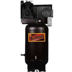 NEW! 7.5 HP Two-Stage 80 Gal Vert. 175 PSI 27.5 CFM 1-Phase 208-203460!!