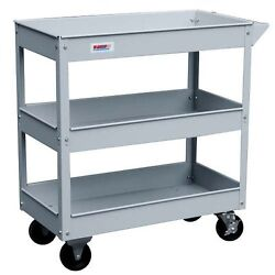 Kravm E08001 Trolley from the workshop with 3 Shelves 28 1132x14 532x30 23