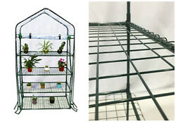 Portable Greenhouse Home Garden Plants Backyard 4 Tiers Durable Mini 40