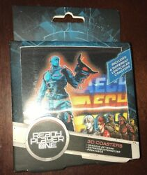Ready Player One 3D Lenticular Coasters by Paladone Set of 4 NEW $10.99