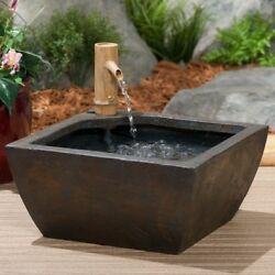 Garden Decor For Women Patio Pond Water Kit Outdoor Decorative Items Square Best
