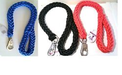 New 2#x27; Heavy Duty Strong Durable Thick Braid Rope Dog Leashes $11.99