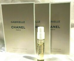 Lot of 3 GABRIELLE CHANEL EDP spray samples   NEW RELEASE   GORGEOUS FLORAL GIFT
