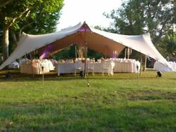 Waterproof Commercial Wedding Event Stage Patio Yard Bedouin Stretch Tent NEW