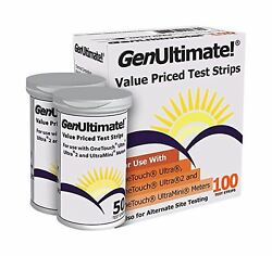 GenUltimate Test Strips 100 Count