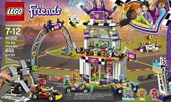 LEGO Friends The Big Race Day Block Building Toy 41352 Expedited Shipping