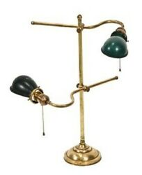 EARLY 20TH CENTURY ANTIQUE ADJUSTABLE FACTORY FOREMAN DESK LAMP