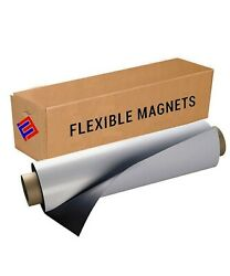 Flexible Vinyl Magnet Sheeting Roll-Super StrongMany Sizes &Thickness- Commerc