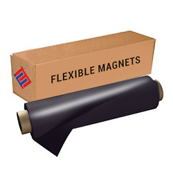 Magnetic Sheeting Roll- Black Vinyl Ideal for DIY Crafts Classroom Vehicle