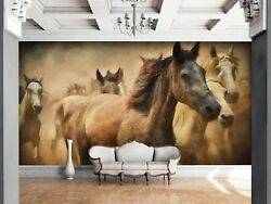 3D Animal Horse 9 Wall Paper Print Wall Decal Deco Indoor Wall Murals US Summer