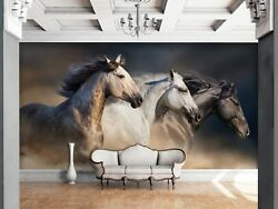 3D Horse Animal 91 Wall Paper Print Wall Decal Deco Indoor Wall Murals US Summer