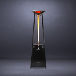 Triangular 8 ft. Commercial Flame Patio Heater Assembled