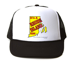 Trucker Hat Cap Foam Mesh It#x27;s A Rhode Island Thing You Wouldn#x27;t Understand $13.46