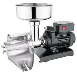 WYZworks Commercial Grade Electric Tomato Strainer Milling Strain Press Machine