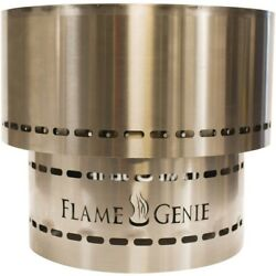 Flame Genie Fg-19-Ss Flame Genie Inferno(R) Wood Pellet Fire Pit (Stainless Stee