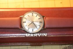 Marvin 17 jewel vintage automatic watch w extra dress band $349.00