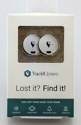 TrackR Bravo 2 Pack Silver In Box Brand New