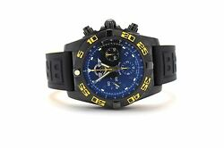 Breitling Chronomat 44 Jet Team LE MB0110 Auto PVD Steel Mens Watch Date