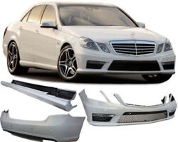 Front rear bumper side skirts complete bodykit for Mercedes S Class W212 from 13