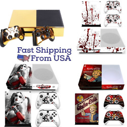 Customized Vinyl Decal Sticker Skins Cover for Xbox One S Console