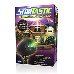 Startastic Dancing Holiday Christmas Lights Laser Light Show As Seen on TV NEW