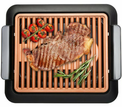 Gotham Steel Smokeless Electric Indoor Grill Nonstick amp; Portable Small $49.99