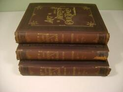 1888 Antique Set 3Books Art And Artists of Our Time Clarence Cook Illustrated $274.99