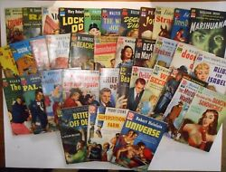 DELL 10 CENT BOOKS- ENTIRE COLLECTION (#1-36) PAPERBACK 1951 ALL GOOD TO VG!!!
