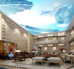 3D Floating Feather Halo 894 Wall Paper Wall Print Decal Wall Deco AJ WALLPAPER