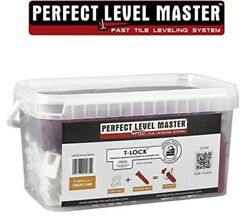 116 Inch T-Lock Complete KIT Anti Lippage Tile leveling System Handy Bucket Kit