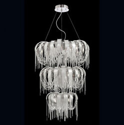 Stylish aluminum chain ceiling light chandelier lighting can be customized 9220A