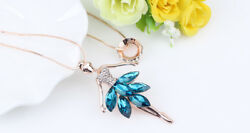 Fashion Jewelry Ballerina Necklace Assorted Colors  Great Gift