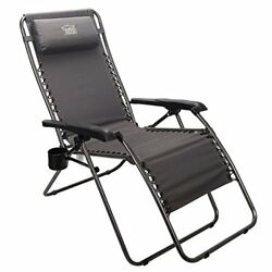 Timber Ridge Zero Gravity Lounge Chair Oversize Recliner for Outdoor Beach Patio