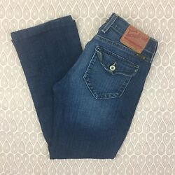 Lucky Brand Sweet N Low Women's Blue Denim Bootcut Jeans Size 27X27 G40