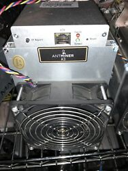 Antminer A3 815GHs SiaCoin Sia Miner IN HAND Ships immediately from USA $50.00
