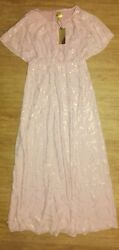 Hamp;M Long Maxi Women's Dress Size 8 Elegant Classy Dress NWT Originally $98 $30.00