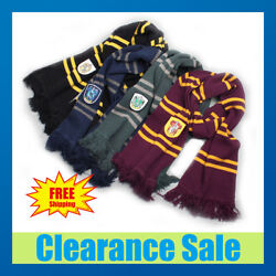 Harry Potter Hogwarts Adult Child Robe Cloak Scarf Halloween Cosplay Costumes