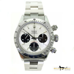 Rolex Vintage Daytona 6263 Oyster Cosmograph Stainless Steel Mint Condition