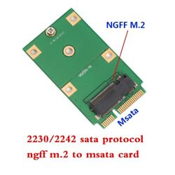 2230 2242 ngff m.2 SSD to Mini PCI E mSATA Adapter Card Replacement Adapter card $6.30