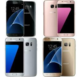 Samsung Galaxy S7 GSM Unlocked ATamp;T T Mobile Global 32GB Smartphone $101.99